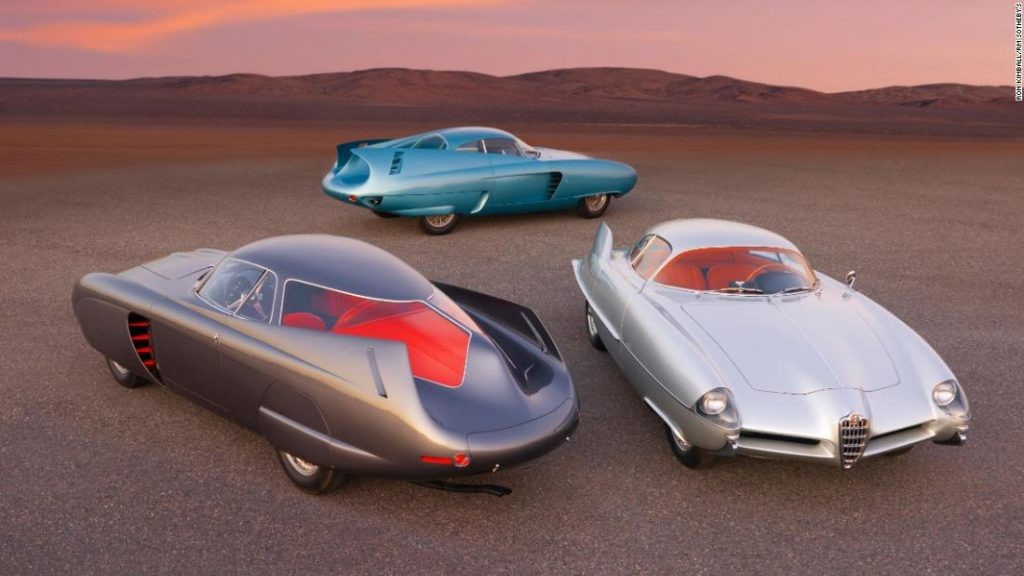 Futuristic 1950s Alfa Romeo B.A.T. concept cars could sell for $20 million