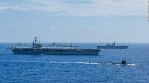 Australia to join India, US, Japan in large naval exercises